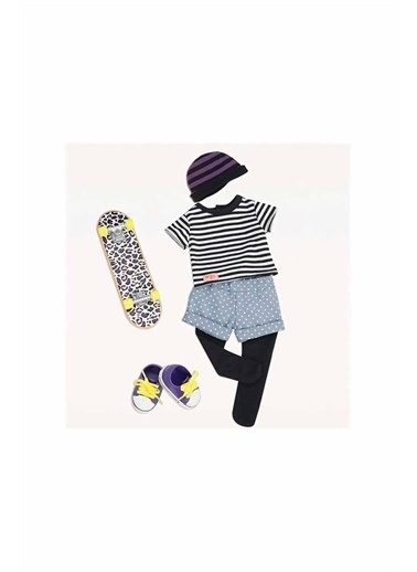 Our Generation Our Generation Oyuncak Bebek Kıyafeti & Kaykay Renkli